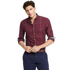 Tommy Hilfiger men's shirt. The New York fit.