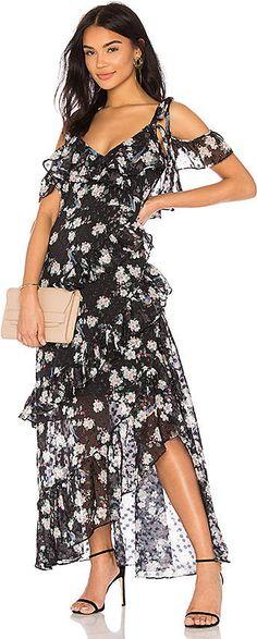 690c93e8d7fb We Are Kindred Pippa Ruffle Maxi Dress
