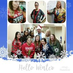 Happy Holidays from all of us at Family Foot & Ankle Specialists! Hello Winter, Meet The Team, Happy Holidays, Christmas Sweaters, Ankle, Fashion, Moda, Happy Holi, Wall Plug