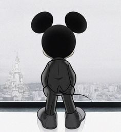 Mickey Mouse. This is the coolest thing I've ever seen..