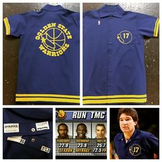 1986 Chris Mullin game used warm up shirt from rookie year will be in the shop till the end of the play offs go warriors !!!