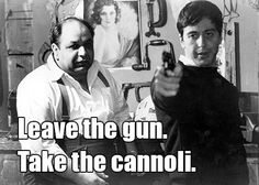 Richard Castellano as Clemenza in The Godfather   15 Movie Quotes You Never Knew Were Ad-Libbed