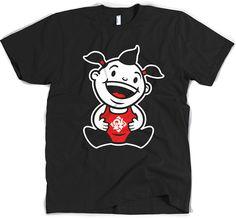 Chubby Boy T-Shirt #tee #chinese #asian #china #asia #cute #design #illustration