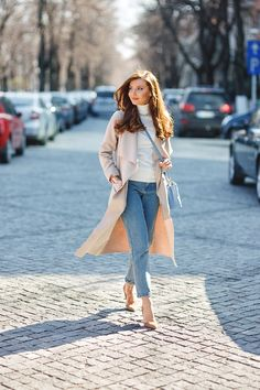 larisa costea, larisa costea blog, the mysterious girl, the mysterious girl blog, fashion blog, blogger, fashion, fashionista, it girl, travel blog, travel, traveler, ootd, lotd, outfit inspiration,look of the day,outfit of the day,what to wear, chic diva, coat,palton elise, chicdiva, beige coat, waterfall coat, white turtleneck, zara, kurtmann.ro, kurtmann, moms jeans, shein vintage jeans, mom jeans, kurt geiger,stilettos,bag, baby blue bag, serenity blue, volume, hair, henna journey,smart…