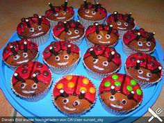 Marienkäfer   Muffins