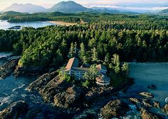 Wickaninnish Inn. Tofino, Canada...Onne my favorite places in the world. I will go back soon.
