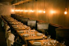 Scandanavian cuisine is served at this small bar, Norsk Dor.  Read our review.