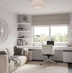 Study Room Design, Study Room Decor, Home Room Design, Home Office Design, Home Office Decor, Living Room Designs, Bedroom Decor, Home Decor, Office Designs