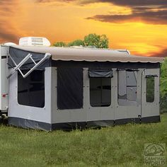 Vacation'r Room - 12-13 Feet - Carefree Of Colorado 291200 - Patio Awning Rooms - Camping World
