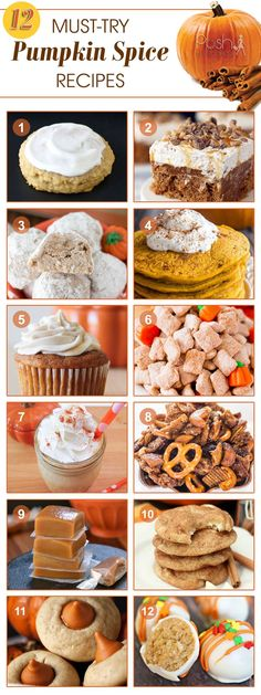 Stacey collects 12 must-try pumpkin spice recipes she hopes to make this fall. She loves pumpkin spice recipes, especially to prep for Thanksgiving. #pumpkinspice #holiday #recipes