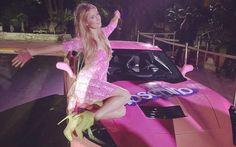 Paris Hilton's C7 Corvette