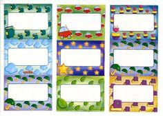 cartelitos nombres maestra infantil Printables, Album, Stickers, Frame, Color, School, Schools, Paper, Printable Labels