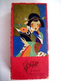 "Art Deco ""The Vogue"" 1928 ""A Bridge Dinner in The Orient"" Set   eBay"