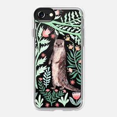 Floral Otter by Papio Press - Classic Grip Hülle