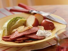 Make classic corned beef in a new-fashioned slow cooker style.