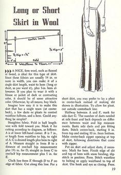 1950's Wardrobe-the Skirt by blueprairie, via Flickr