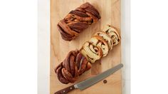Cinnamon Swirl bread owes its soft and fluffy texture to each of its three rises. Martha made this recipe on Martha Bakes episode White Bread, Sweet Bread, Dry Yeast, Bread Recipes, Brunch, Treats, Breakfast, Martha Stewart, Bread Baking