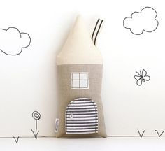 House Pillow, Tooth Fairy Cottage, Neutral, Boys, Girls, Children, Toy,  Stuffed Toy, Keepsake on Etsy, $26.25 AUD