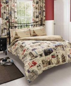 World Post Comforter Cover Duvet Cover Quilt Cover Bedding Set With Pillow Cases Double Duvet Covers, Bed Covers, Comforter Cover, Duvet Cover Sets, King Comforter, Linen Bedding, Bedding Sets, Bed Linens, Sweet Home