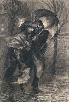 Jan Sluijters - Onder de paraplu