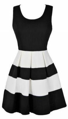Stripe Dress //