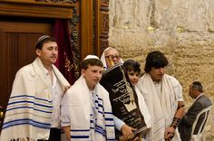 """https://flic.kr/p/9SJN9Z   Israel 2011   Bar Mitzvah and Bat Mitzvah are Jewish coming of age rituals. According to Jewish law, when Jewish children reach 13 years of age, they become responsible for their actions, and """"become a Bar or Bat Mitzvah"""