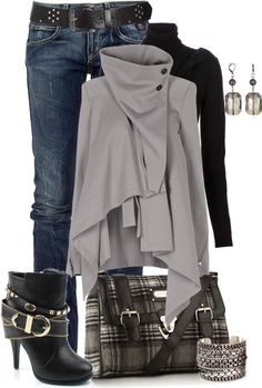 Latest outfit ideas for winter  Now here's a trend that makes perfect sense for winter. Plaid is awesome because it's the kind of print tha...
