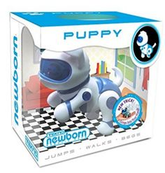 Tekno-Newborns-Pet-Robot-Dog-Walks-Blue-sits-begs-and-jumps-into-your-hand