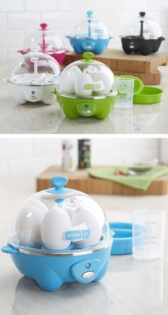 Rapid Egg Cooker, quicker than boiling eggs in water & makes perfect eggs every time!