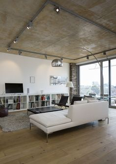 new #ikea #kallax in stylish #lofty apartment