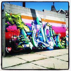 Graffiti. Revok. The Seventh Letter. MSK. Detroit.