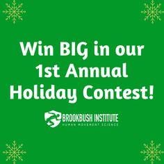 Brookbush Institute Holiday Contest