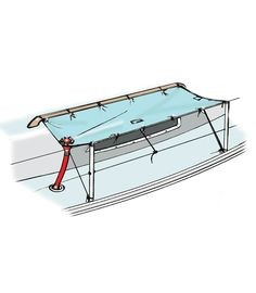 Harvesting Rainwater on a Sailboat Sailboat Living, Living On A Boat, Sailboat Interior, Yacht Interior, Boat Building Plans, Boat Plans, Power Boats, Speed Boats, Sailboat Restoration