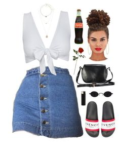 """red roses - lil skies"" by demirese ❤ liked on Polyvore featuring Social Anarchy, Miss Selfridge and Givenchy"