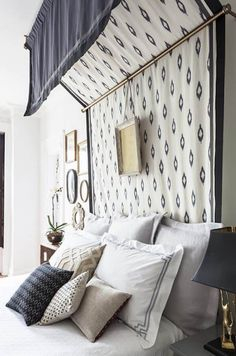 Bed Canopy | DIY Headboard Ideas to Build for Your Bed
