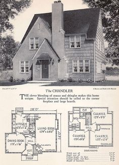 1928 Home Builders Catalog - The Chandler | by American Vintage Home