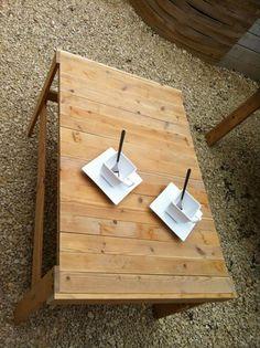 DIY Pallet Patio Coffee Table | 99 Pallets