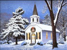 Christmas Scenes Wallpaper Biography Nearly all households from all parts of the globe own a computer. Christmas Jesus, Christmas Past, Country Christmas, Winter Christmas, Vintage Christmas, Christmas Music, Christmas Colors, Christmas Greetings, Christmas Scenes Wallpaper