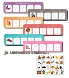Jouons avec les rimes et les attaques Name Activities, Learning Activities, Activities For Kids, French Education, Jobs For Teachers, File Folder Games, Phonological Awareness, Free Preschool, Montessori Materials