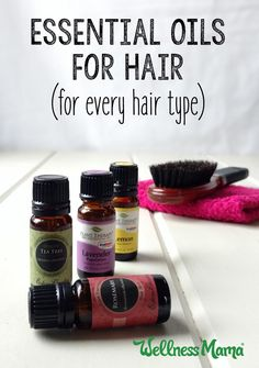 9 Nourishing Essential Oils for Hair Health Using essential oils for hair is a great way to improve hair over time. Try Lavender, Peppermint, Rosemary, Cedarwood & others for great hair! Oil For Curly Hair, Oil For Hair Loss, Hair Oil, Essential Oils For Hair, Essential Oil Uses, Wellness Mama, Beauty Tips For Hair, Diy Beauty, Teen Beauty