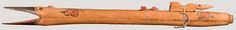 Mescalero Apache, Arizona, late 19th century Courting flute. National Music Museum.  http://orgs.usd.edu/nmm/AmericanIndigenous/871/871ApachefluteleftsideLG.jpg