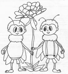 včelí medvídci omalovánky - Hledat Googlem Petra, Drawings, Classroom, Fictional Characters, School, Glass, Dibujo, Flowers, Coloring Pages