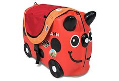 Ride-On Ladybug Travel Bundle, Red on OneKingsLane.com