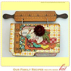 """Images of recipe scrapbooking 