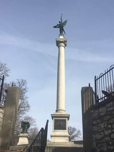 Elijah P. Lovejoy Monument and the Whispering Wall