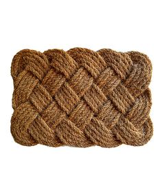 Look at this Brown Rope Doormat on #zulily today!