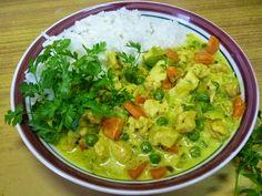 Rozgrzewające curry z kurczaka ~ Lepsza wersja samej siebie Guacamole, Mexican, Ethnic Recipes, Food, Essen, Meals, Yemek, Mexicans, Eten