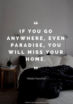 How much do you love your home? We've pulled together the 36 most beautiful quotes about the home that we could find. From Walt Disney to Benjamin Franklin, you are bound to leave this post thinking about your home in a different way. Missing Home Quotes, Home Quotes And Sayings, House Quotes, Quotes About Going Home, Wall Sayings, Home Wall Decor, Unique Home Decor, Room Decor, Home Staging