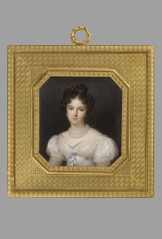 Millet, Frederic (1786-1859) Portrait of Sofia Potocka, nee Branicka 1819, Warszawa, Muzeum Narodowe