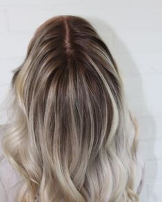 "50 Likes, 2 Comments - Balayage & Bridal Specailist (@hairby_megz) on Instagram: ""Smudged root for the win!! #modernsalon"""